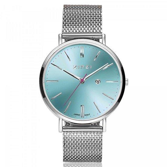 ZINZI horloge ZIW411M - Mesh band + gratis Zinzi armbandje