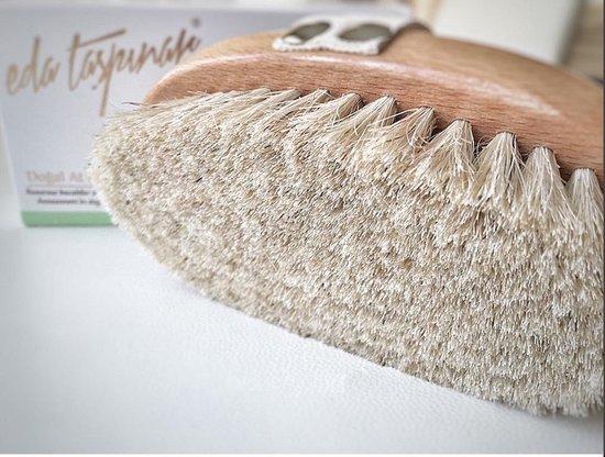 Eda Taspinar Anti-Cellulitis Dry Brush lichaamsborstel paardenhaar