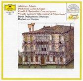 Albinoni: Adagio;  Pachelbel: Kanon und Gigue; etc / Karajan