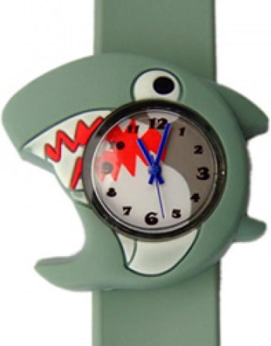 Haai horloge met een slap on bandje