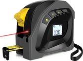 YONO Afstandsmeter Laser 40 Meter – Rolmaat 5 Meter – 2in1 Digitaal – Zwart