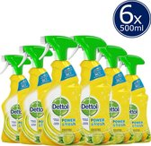Dettol Allesreinger Spray Power & Fresh Spray Citroen - 6 x 500 ml