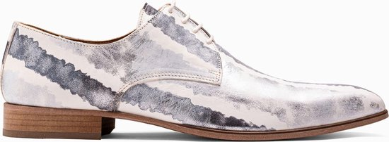 Paulo Bellini Dress Shoe Carbonia Leather Black/Wit