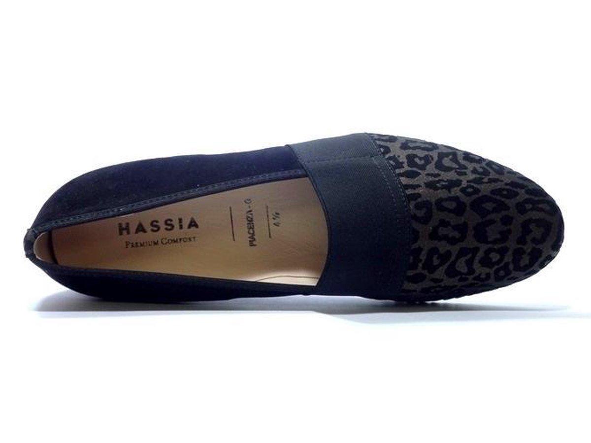 Hassia 8 30 1657 G Instapper Zwart Combi 40 Instappers