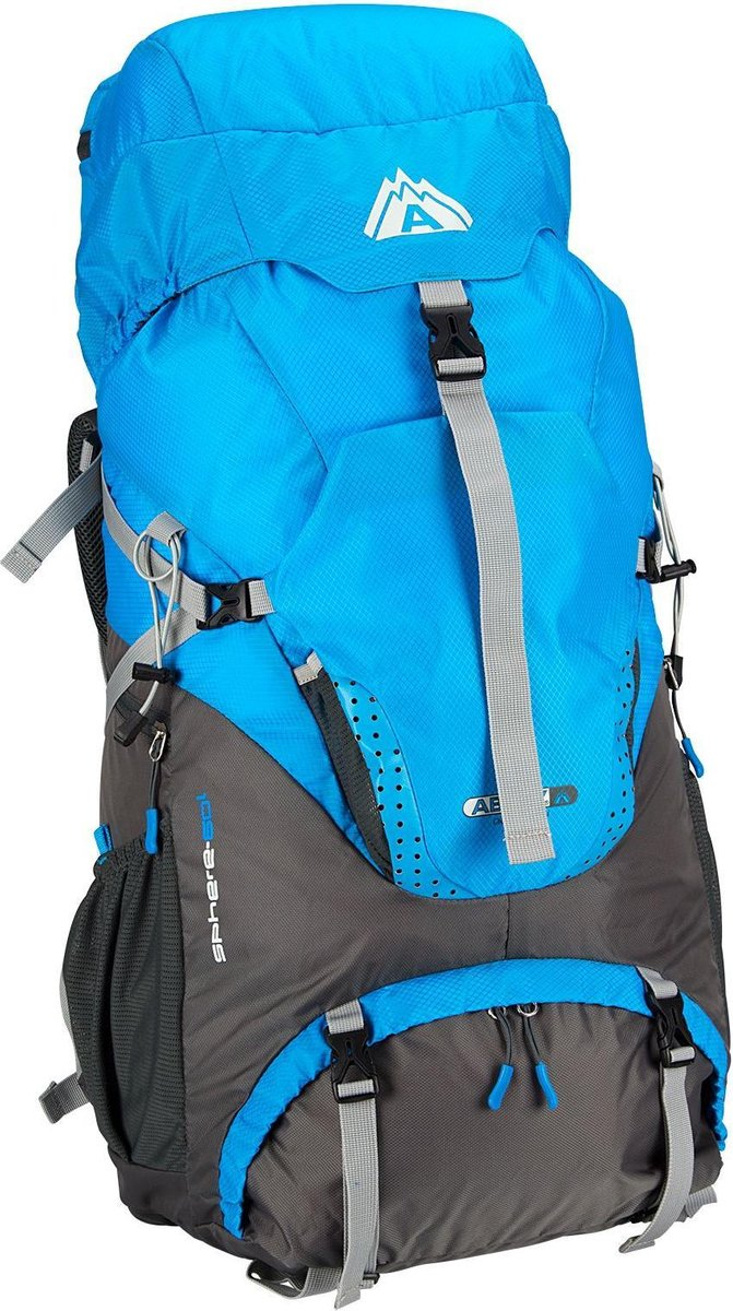 Abbey Trekking Backpack - 60 liter - Blauw