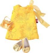 Gotz accessoires 46-50 cm Gele jurk met schoenen