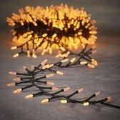 Luca Lighting kerstverlichting lichtsnoer - buiten - 1000 lampjes warm wit - 2000 cm