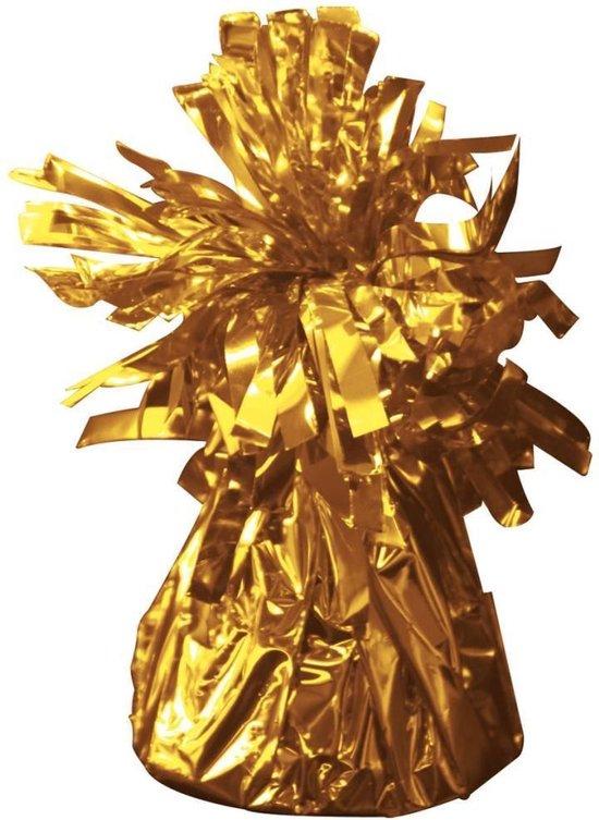 ballon gewichtje 170 gr goud 1 stuk