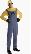 Minion Kostuum Dave Volwassenen - Carnavalskleding - One Size