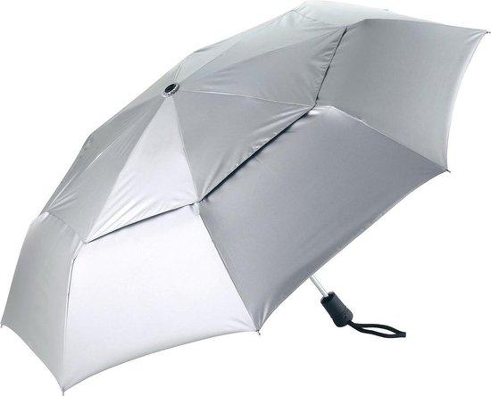 Coolibar UV paraplu klein - Zilver - Maat Onesize