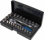 KS Tools CHROMEplus Ratelsleutel-. doppen- en bitset 26-dlg 918.0626