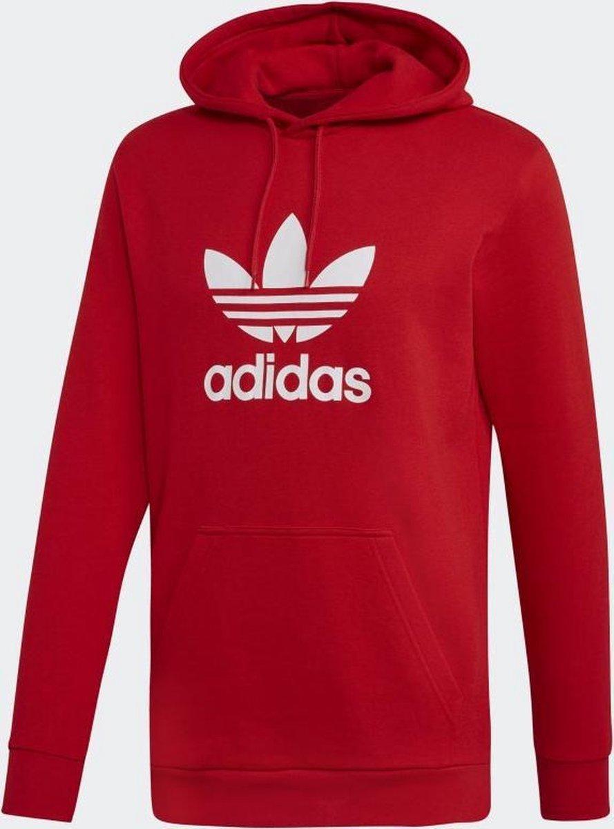 | adidas Originals Trefoil Hoodie Heren Scarlet
