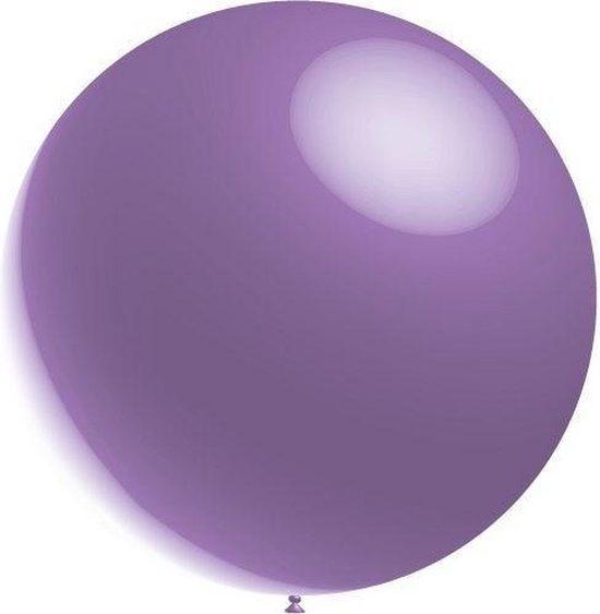 Lila Reuze Ballon XL Metallic 91cm