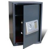 Elektronische digitale kluis met schap 35 x 31 x 50 cm