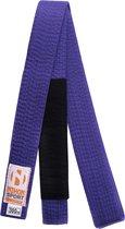 BJJ-banden Nihon voor volwassenen   diverse kleuren - Product Kleur: Paars / Product Maat: 280