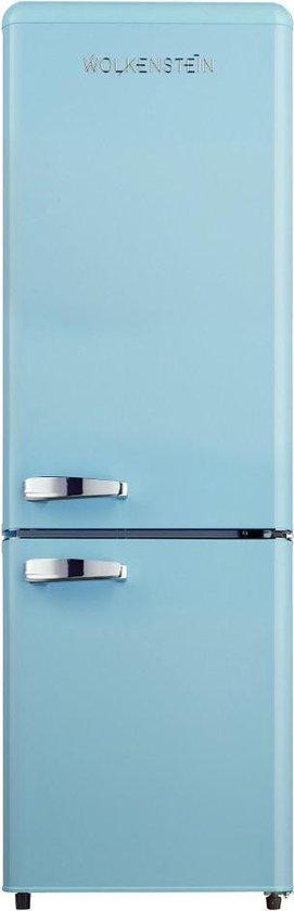 Koelkast: Wolkenstein KG 250.4 RT B - Retro koel-vriescombinatie - Lichtblauw, van het merk Wolkenstein