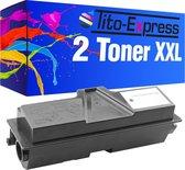 PlatinumSerie® 2 toner alternatief voor Kyocera Mita TK-130 XXL black 28.000 pagina's
