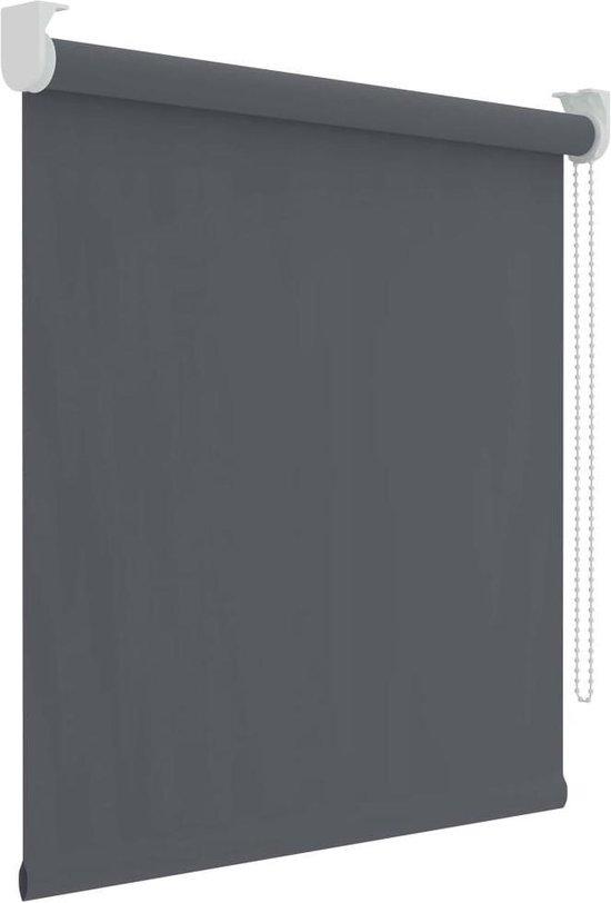 Decosol Rolgordijn Verduisterend - 150x190 cm - Antraciet