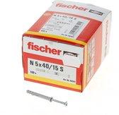 nagelplug N5x40 fischer (100st.)
