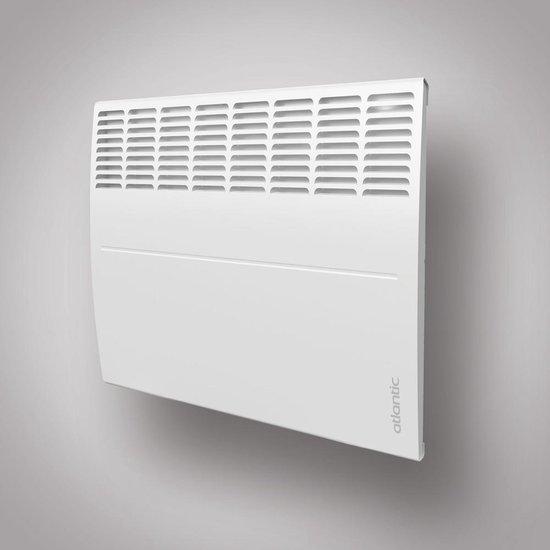 Ecoflex Atlantic convector elektrische verwarming 500Watt 384x451mm met instelbare thermostaat