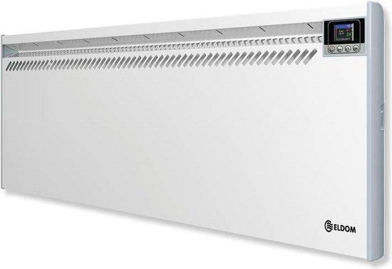 Eldom convector elektrische verwarming 2500Watt 434x1366mm met elektronische instelbare thermostaat
