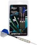 Abbey Darts Steeltip Darts - Nickel/Silver - 24