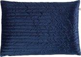 Dutch Decor Sierkussen Samla 40x60 cm donkerblauw