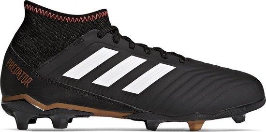 adidas Predator 18.3 FG J Voetbalschoenen Kinderen Zwart CP9010