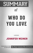 Boek cover Summary of Who Do You Love van Paul Adams