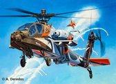 "Revell Helicopter AH-64D Apache ""100-Military Avia - Bouwpakket - 1:48"
