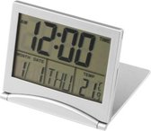 Digitale Klok Kalender - Compacte Alarmklok met Kalender en Temperatuur meter voor Bureau of Slaapkamer