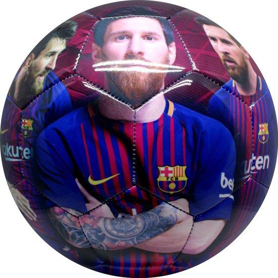 Barcelona voetbal leer groot shiny Messi - Barcelona