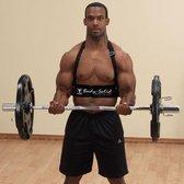 Body-Solid Biceps Bomber BB23 - arm blaster - Zwart - Metaal