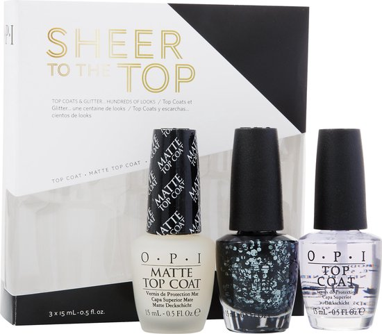 OPI SHEER TO THE TOP NAIL EFFECT TRIO