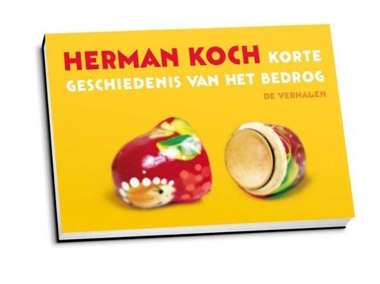 Korte geschiedenis van het bedrog - dwarsligger (compact formaat) - Herman Koch |