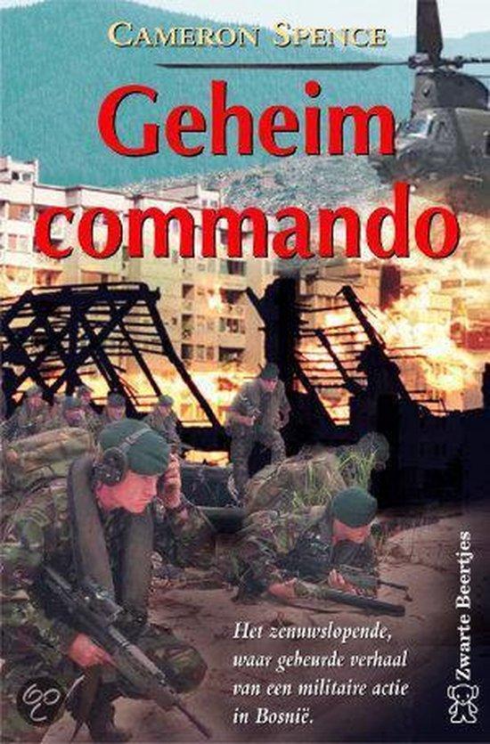 Geheim Commando - Cameron Spence pdf epub