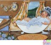 "Diamond Painting ""JobaStores®"" Dikke Dames 02 - volledig - 40x30cm"