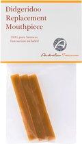 Bijenwas voor mondstuk didgeridoo - pure imker bijenwas - naturel kleur
