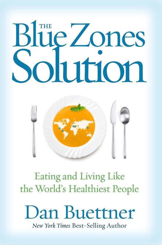 Boek cover The Blue Zones Solution van Dan Buettner (Onbekend)