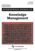 International Journal of Knowledge Management, Vol 8 ISS 2