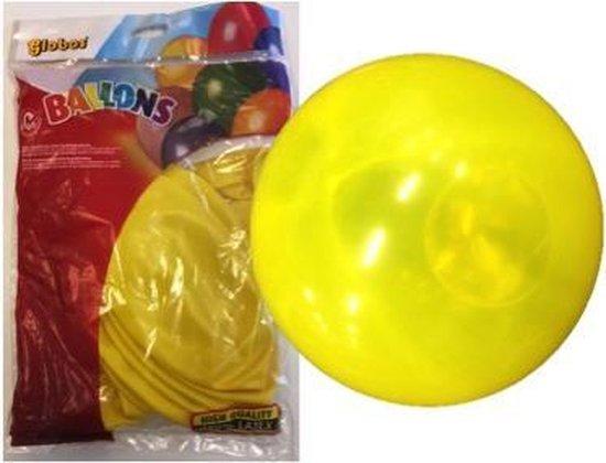 Megaballonnen 90 cm Geel 6 stuks