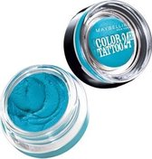 Maybelline Color Tattoo 24H  - 20 Turquoise Forever - Blauw - Oogschaduw