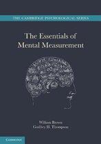 Boek cover The Essentials of Mental Measurement van William Brown