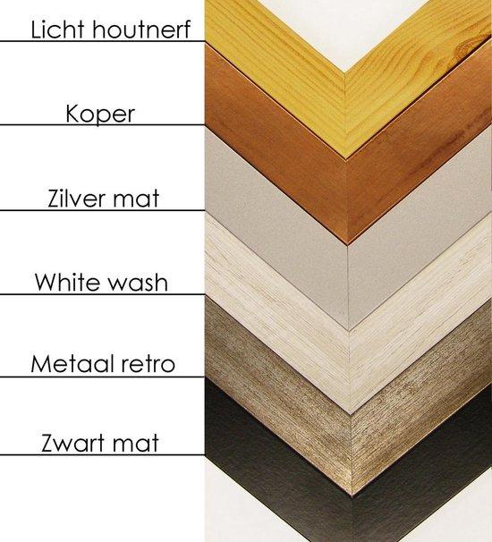 Homedecoration Misano – Fotolijst – Fotomaat – 76 x 83 cm  – Zwart mat