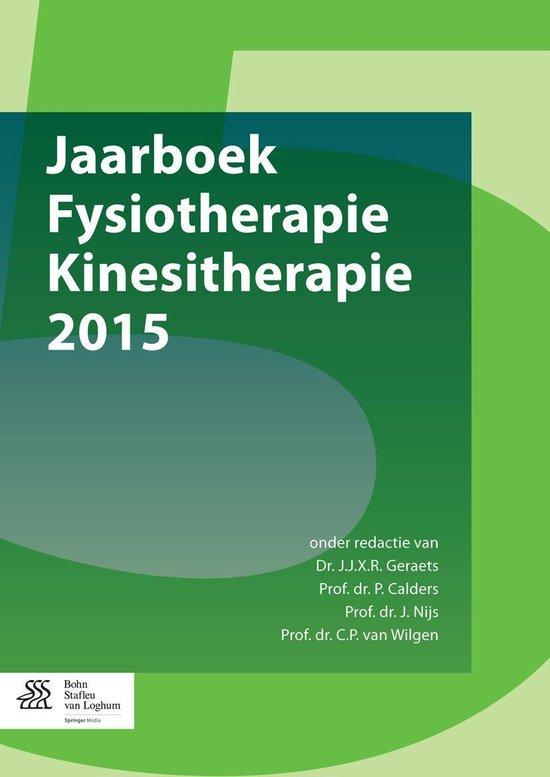Jaarboek Fysiotherapie Kinesitherapie 2015 - none |