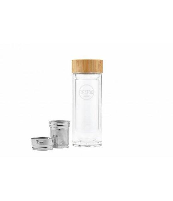 Teatox Thermo-Go-Bottle Design Thermosfles met RVS filter