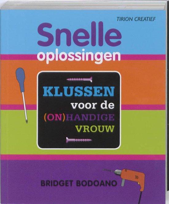 Cover van het boek 'Snelle oplossingen'