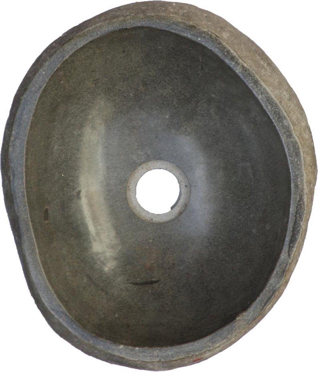 ROCKQ small Ø30-40cm riviersteen waskom wasbak wastafel