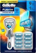 Gillette Fusion5 Proshield Chill- Scheersysteem + 9 scheermesjes