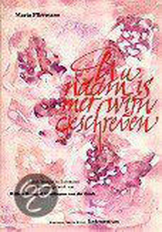 Boek cover Uw Naam Is Met Wijn Geschreven van Maria Pfirrmann